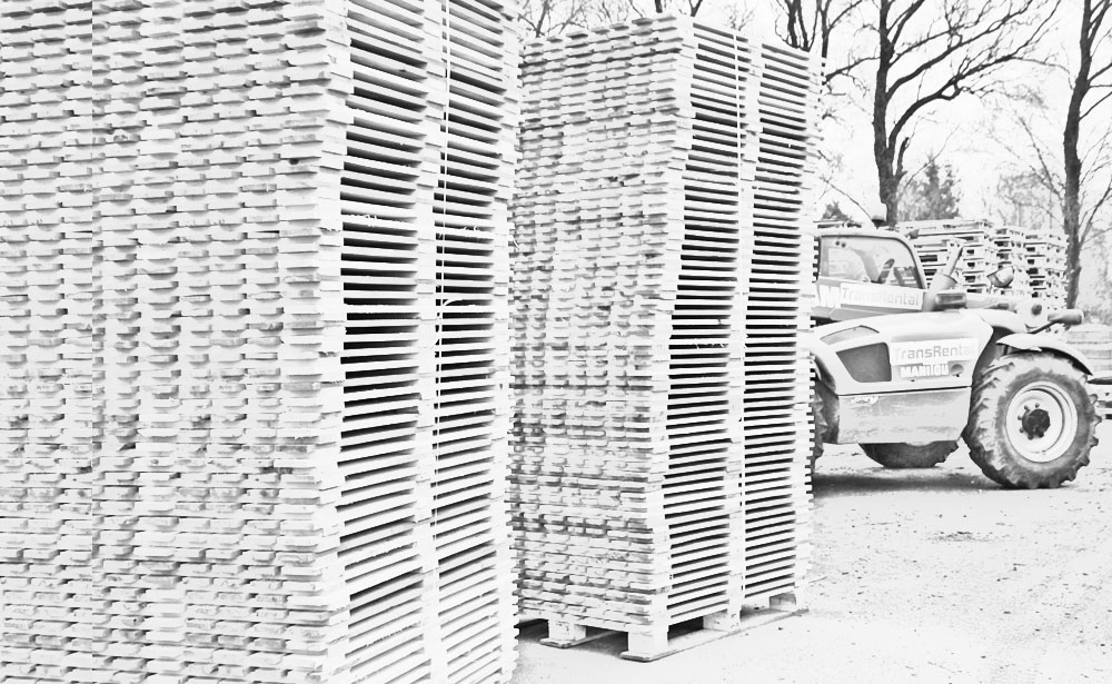 Long term experience in the production of pallets